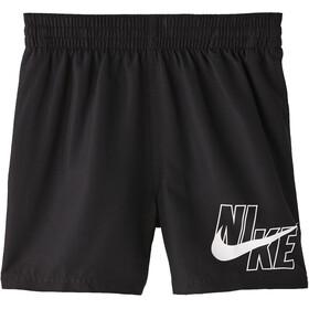 "Nike Swim Logo Solid 4"" Shorts Volley Niños, negro"
